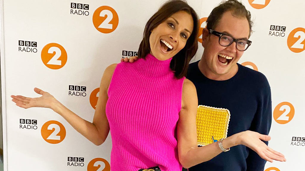 Alan Carr Melanie Sykes Radio 2